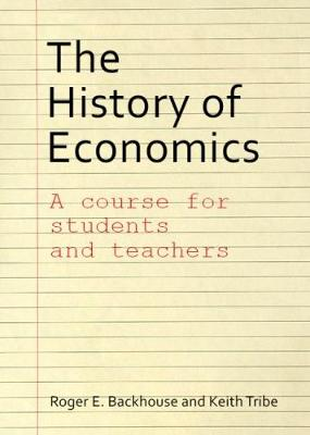 History of Economics book
