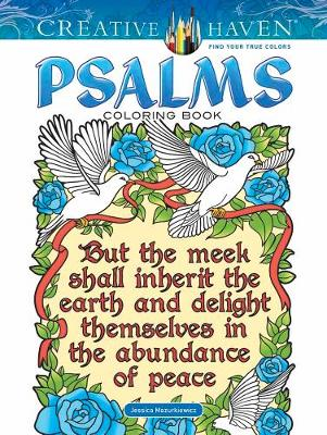 Creative Haven Psalms Coloring Book by Jessica Mazurkiewicz