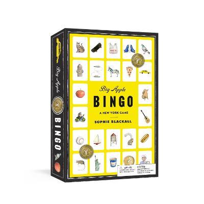 Big Apple Bingo: A New York Game: Board Games by Sophie Blackall