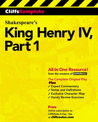 King Henry IV Complete Study Edition Pt.1 by William Shakespeare
