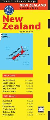 New Zealand Travel Map: Fourth Edition by Periplus Editions
