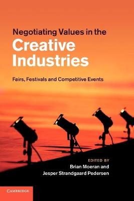 Negotiating Values in the Creative Industries book