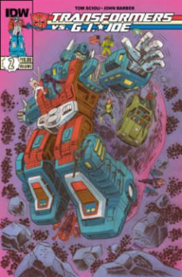 Transformers Vs G.I. Joe Volume 2 by Tom Scioli