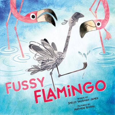 Fussy Flamingo by Shelly Vaughan James