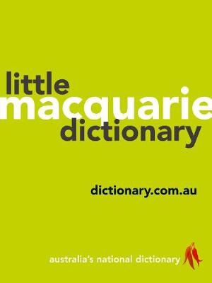Macquarie Little Dictionary book