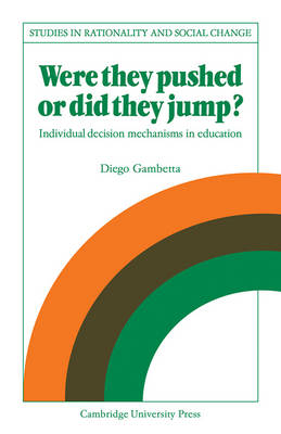 Were They Pushed or Did They Jump? by Diego Gambetta