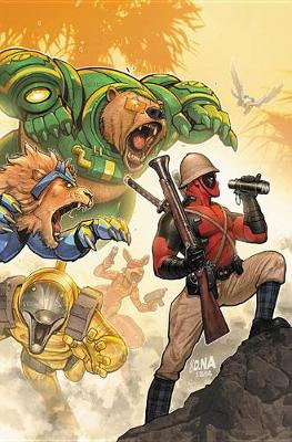 Deadpool Classic Vol. 19: Make War, Not Love by Nick Giovannetti