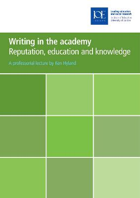 Writing in the academy by Ken Hyland
