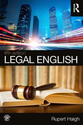 Legal English by Rupert Haigh