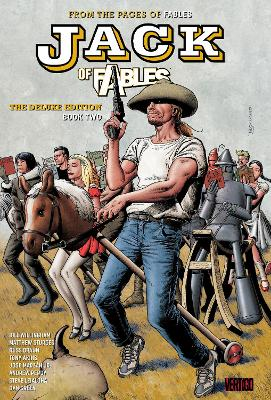Jack Of Fables The Deluxe Edition Book Two book