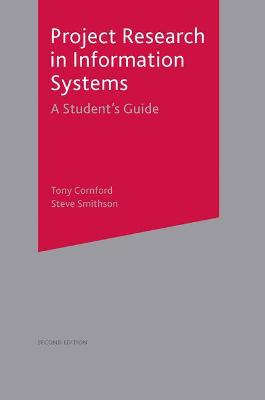 Project Research in Information Systems book
