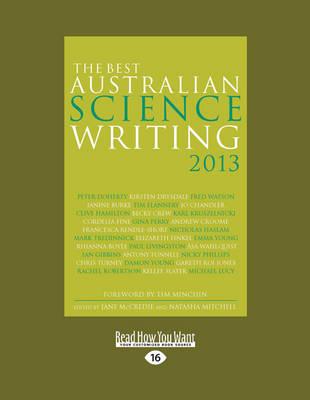 The Best Australian Science Writing 2013 by Jane McCredie