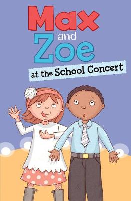 Max and Zoe at the School Concert by Shelley Swanson Sateren