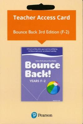 Bounce Back! Years F-2 Reader+ (Access Card) by Helen McGrath