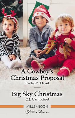 A Cowboy's Christmas Proposal/Big Sky Christmas book