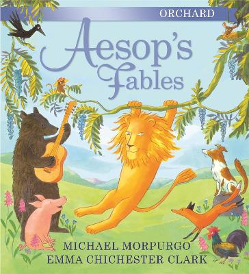 Orchard Aesop's Fables book