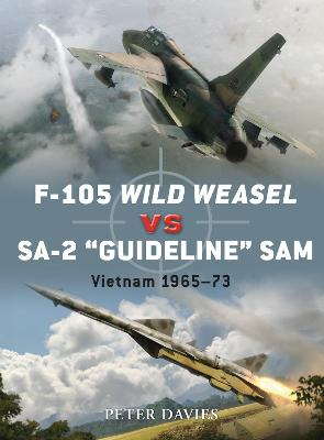 F-105 Wild Weasel vs SA-2 `Guideline' SAM by Jim Laurier