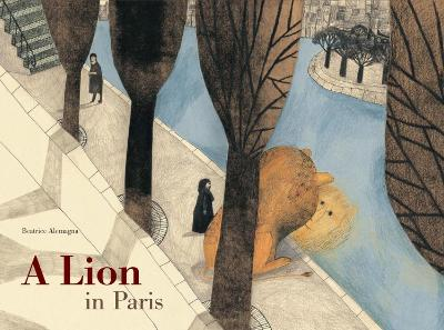 Lion in Paris book
