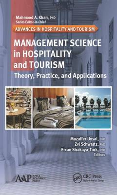 Management Science in Hospitality and Tourism by Muzaffer Uysal
