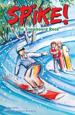 The Snowboard Race by Phil Kettle