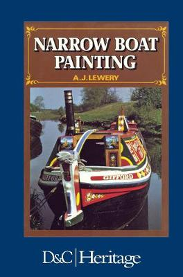 Narrow Boat Painting by A J Lewery