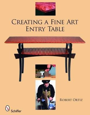 Creating a Fine Art Entry Table book