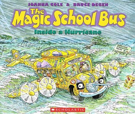Magic School Bus Inside a Hurricane book