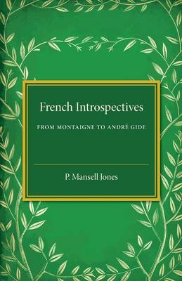 French Introspectives by P. Mansell Jones