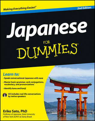 Japanese for Dummies, 2nd Edition with CD by Eriko Sato