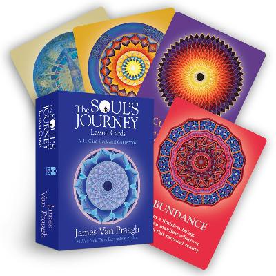 The Soul's Journey Lesson Cards: A 44-Card Deck and Guidebook by James Van Praagh