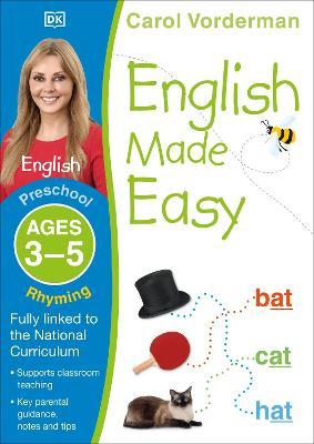 English Made Easy Rhyming Preschool Ages 3-5 by Carol Vorderman
