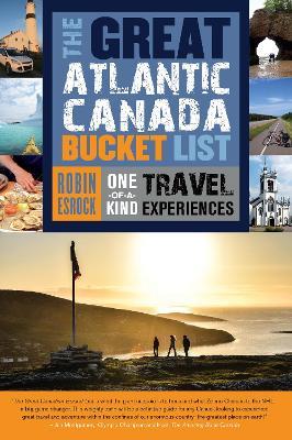 Great Atlantic Canada Bucket List book