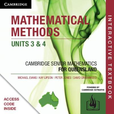 CSM QLD Mathematical Methods Units 3 and 4 Digital (Card) by Michael Evans