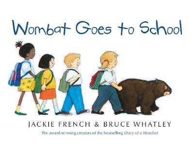 Wombat Goes To School BIG BOOK book