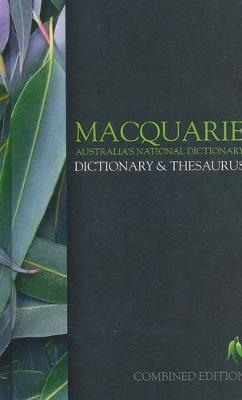 Macquarie Dictionary & Thesaurus by Macquarie Dictionary