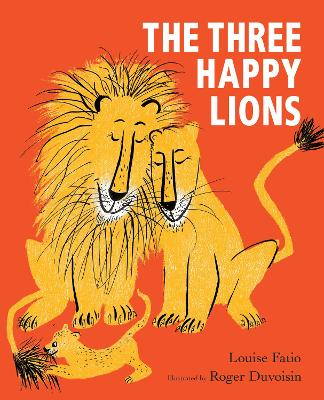 The Three Happy Lions book