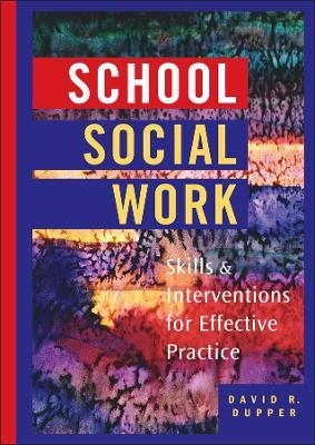 School Social Work book