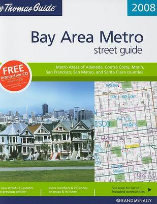 The Thomas Guide Bay Area Metro Street Guide by Rand McNally