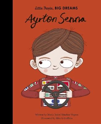 Ayrton Senna by Maria Isabel Sanchez Vegara