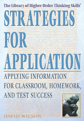 Strategies for Application by David Wilson