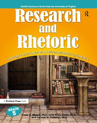 Research and Rhetoric by Amy Price Azano