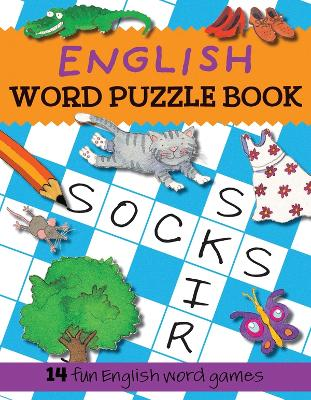 English Word Puzzle Book by Catherine Bruzzone