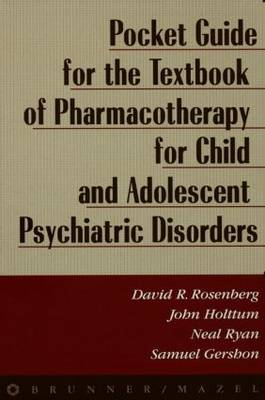 Pocket Guide For Textbook Of Pharmocotherapy by David Rosenberg