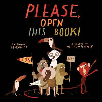 Please, Open This Book! by Adam Lehrhaupt