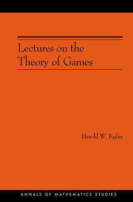 Lectures on the Theory of Games by Harold William Kuhn