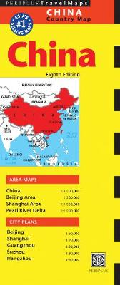 China Travel Map Eighth Edition by Periplus Editors