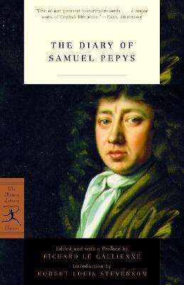 Mod Lib The Diary Of Samuel Pepys book