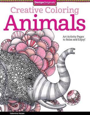 Creative Coloring Animals by Valentina Harper