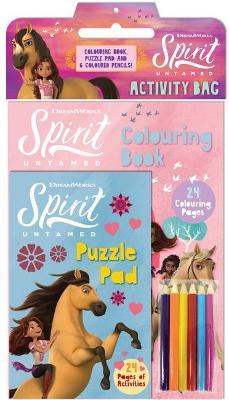 Spirit Untamed: Activity Bag (Dreamworks) book