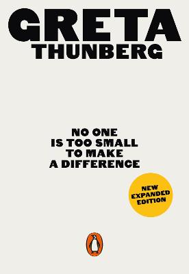 No One Is Too Small to Make a Difference book